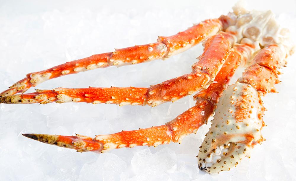 chân cua king crab đông lạnh