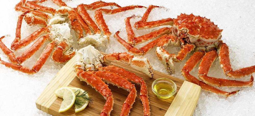 cua king crab hấp là cách thưởng thức trọn vẹn hương vị cua